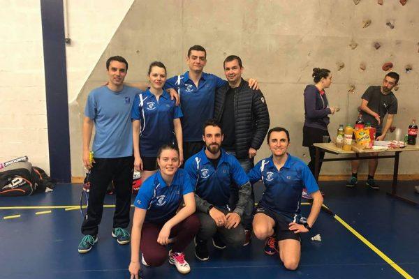 Interclub journée 8 ABSR 2 gagne 4-2 à Montpellier