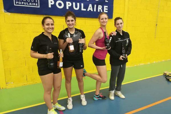 Tournoi de Saint-Mathieu-de-Treviers les 24 et 25 novembre 2018