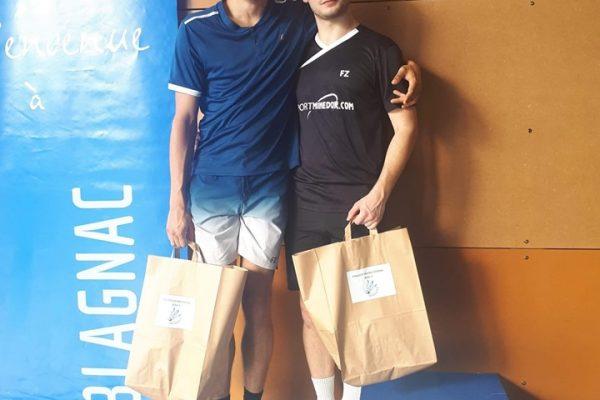 Tournoi de Blagnac : place de finaliste pour Nicolas Pace